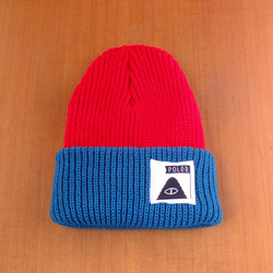 Poler Trail Boss Beanie - Dark Red