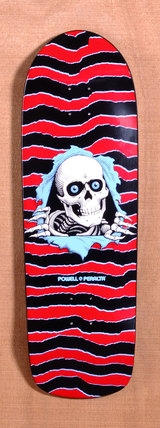 "Powell 31.75"" Old School Ripper Skateboard Deck"