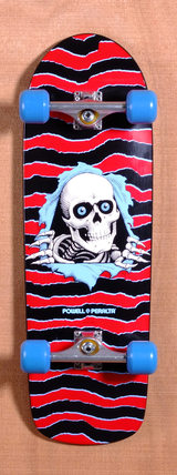 "Powell 31.75"" Old School Ripper Skateboard Complete"