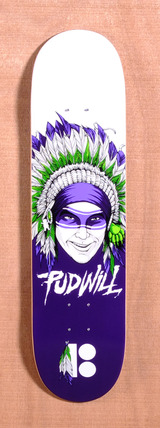"Plan B Pudwill Head Dress 8.0"" Skateboard Deck"