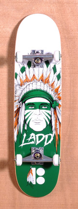 "Plan B Ladd Head Dress 8.125"" Skateboard Complete"