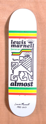 "Almost Marnell Tribute 8.25"" Skateboard Deck"