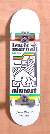 "Almost Marnell Tribute 8.25"" Skateboard Complete"