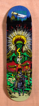 "Creature Navarrette Badlands 8.8"" Skateboard Deck"