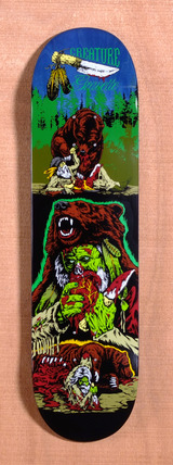 "Creature Gravette Badlands 8.26"" Skateboard Deck"