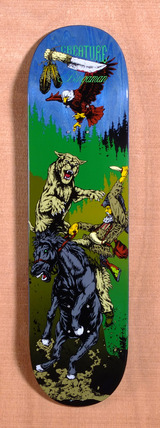 "Creature Bingaman Badlands 8.375"" Skateboard Deck"