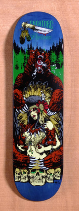 "Creature Partanen Badlands 8.6"" Skateboard Deck"