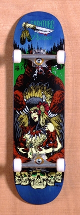 "Creature Partanen Badlands 8.6"" Skateboard Complete"