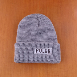 Poler Worker Man Beanie - Light Grey Heather