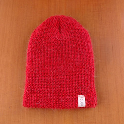 Poler Mole Hair Beanie - Deep Red