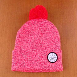 Poler Forest Wizard Beanie - Red