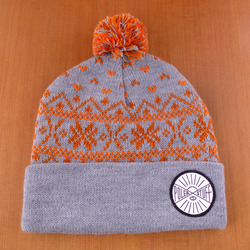 Poler Squirrel Beanie - Light Grey