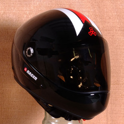 Triple 8 Racer Downhill Helmet - Gloss Black