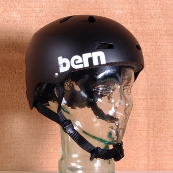 Bern Macon Hard Hat Helmet - Matte Black