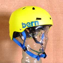 Bern Macon Hard Hat Helmet - Neon Yellow
