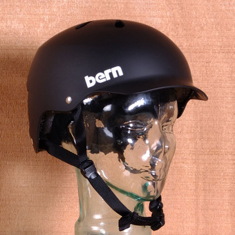 Bern Watts Hard Hat Helmet - Black Matte