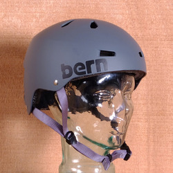 Bern Macon Hard Hat Helmet - Matte Grey