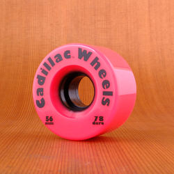 Cadillac 56mm 78a Wheels - Neon Pink