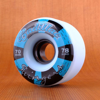 Cadillac Swingers 70mm 78a Wheels - Blue