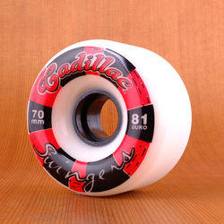 Cadillac 70mm 81a Swingers Wheels - White