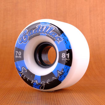 Cadillac Swingers 70mm 81a Wheels - White