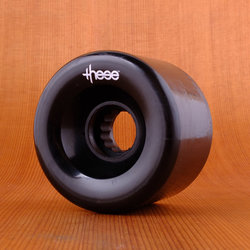 These 66mm 82a ATF 327 Wheels - Black