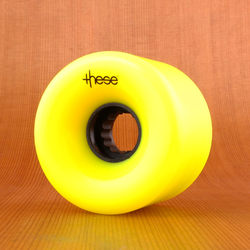 These 66mm 82a ATF 327 Wheels - Yellow