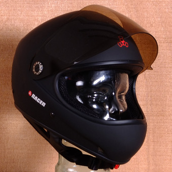 Triple 8 Racer Downhill Helmet - Matte Black