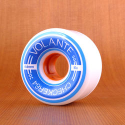 Volante Mini Checker 64mm 82a Wheels - White
