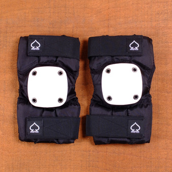 Pro Tec Park Elbow Pads - Black/White