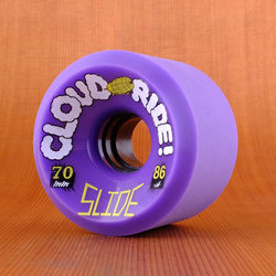 Cloud Ride Slide 70mm 86a Wheels