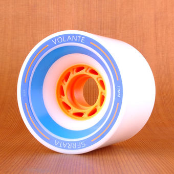 Volante Serrata 72mm 80a Wheels - White
