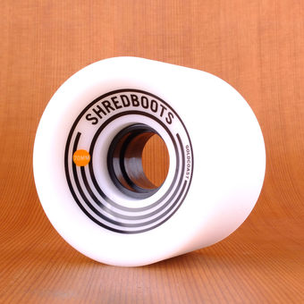 GoldCoast Shred Boot 70mm 85a Wheels - White