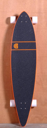 "GoldCoast 44"" Classic Floater Longboard Complete - Orange"