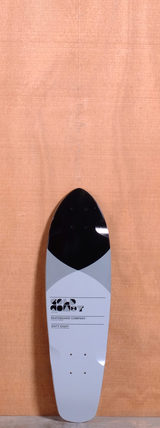 "GoldCoast 27"" Pier Shovel Longboard Deck - Grey"