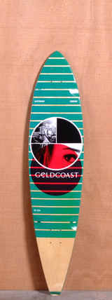 "GoldCoast 40"" Filter Longboard Deck"