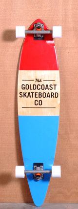 "GoldCoast 44"" Standard Longboard Complete - Red"