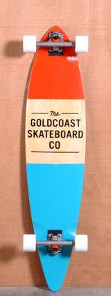 "GoldCoast 44"" Standard Longboard Complete - Orange"