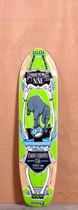"Sector 9 37.5"" Mini Daisy Longboard Deck - Green"