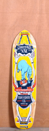 "Sector 9 37.5"" Mini Daisy Longboard Deck - Yellow"