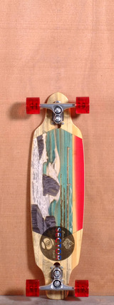 "Sector 9 33.5"" Shoots Bamboo Longboard Complete"
