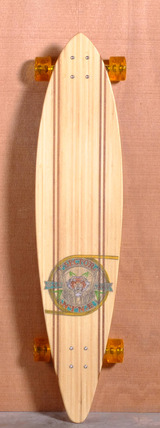 "Sector 9 44"" G-Land Bamboo Longboard Complete"