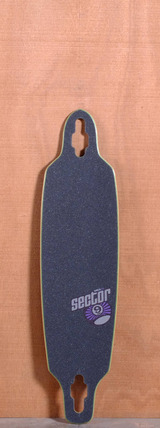 "Sector 9 36"" Fraction Longboard Deck - Purple"
