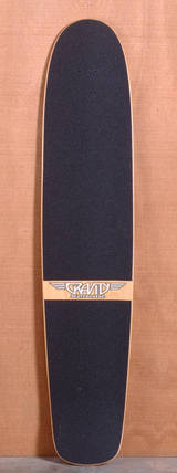 "Gravity 45"" Tropical Splash Longboard Deck"