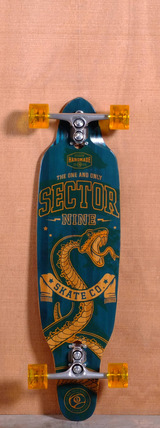 "Sector 9 36.5"" Striker Longboard Complete - Blue"