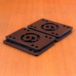 "Sector 9 Shock Pad .125"" Risers - Set of 4"