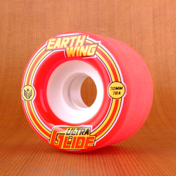Earthwing Ultra Glide 70mm 78a Wheels - Red