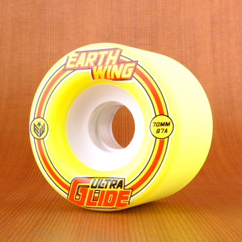 Earthwing Ultra Glide 70mm 87a Wheels - Yellow