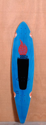 "GoldCoast 40"" Studio Folk Longboard Deck"