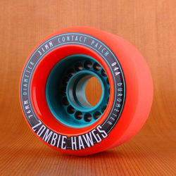 Hawgs Zombie 76mm 84a Wheels - Orange